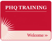 PHQ Training - CE Credits Available